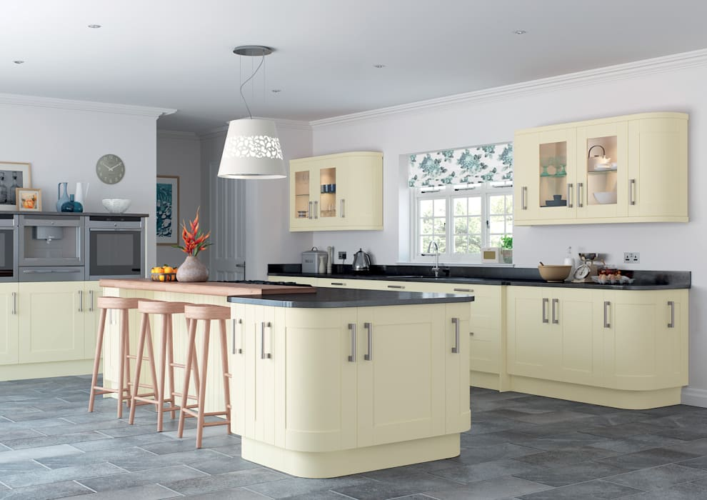 Portland Fitted Kitchens London:  Kitchen by Metro Wardrobes London,