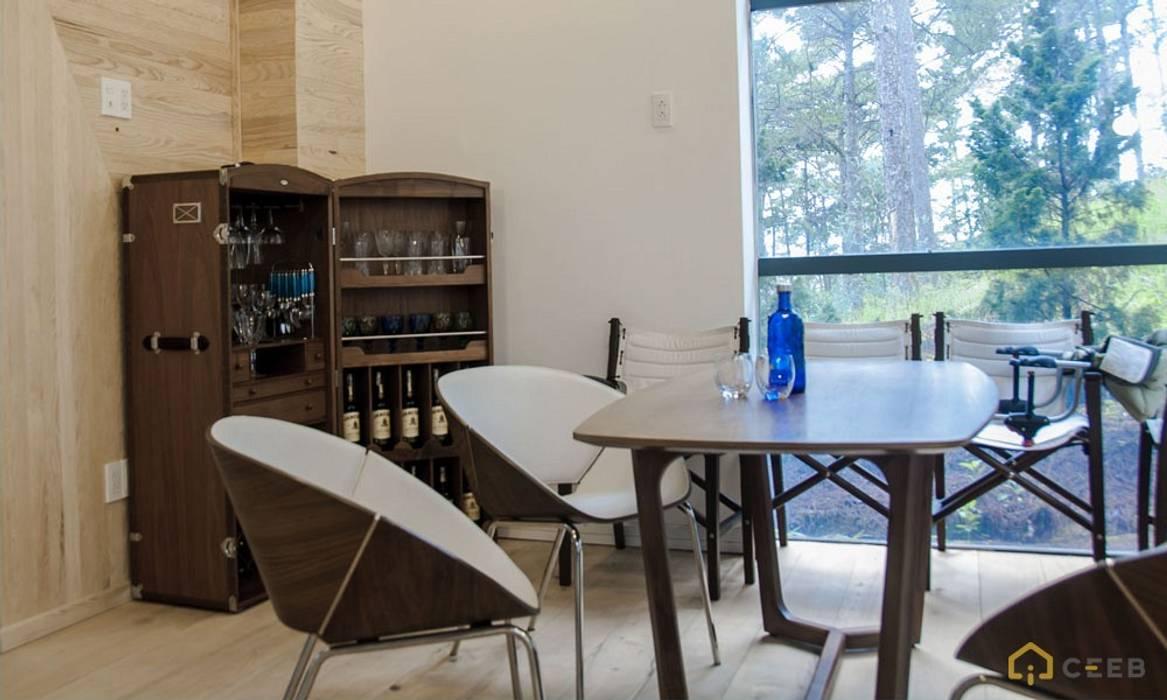 thiết kế biệt thự nghỉ dưỡng Dalat hiện đại Eden:  Hầm rượu by CÔNG TY THIẾT KẾ NHÀ ĐẸP SANG TRỌNG CEEB, Hiện đại