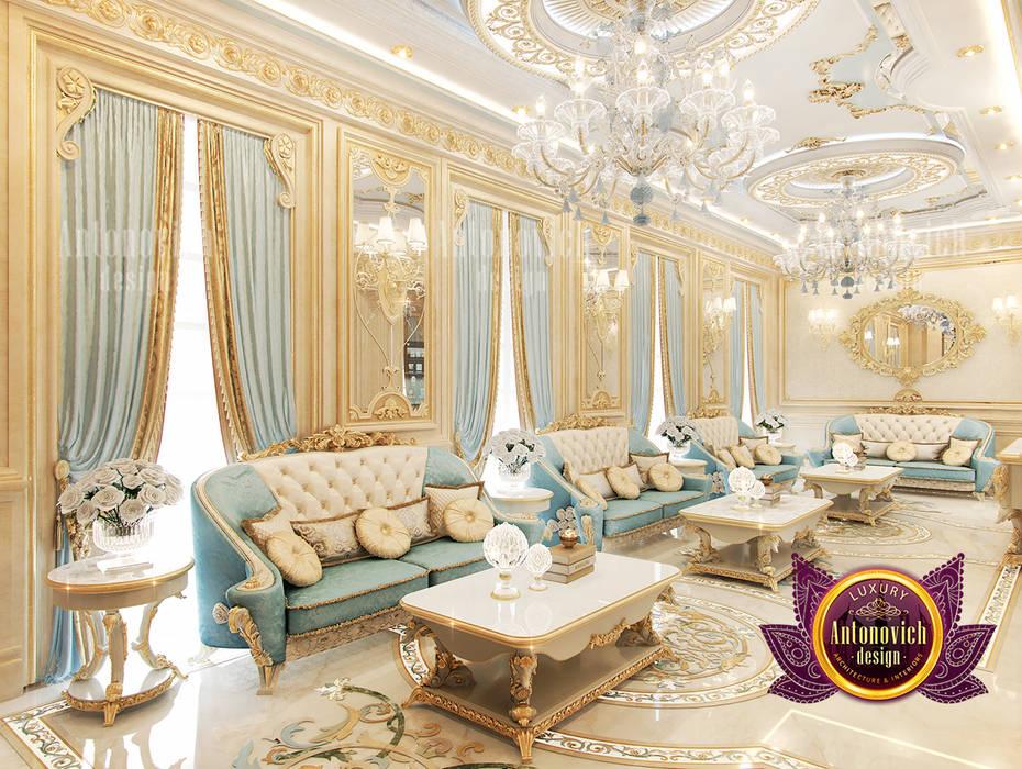 Incredible Beautiful Classical Interior by Luxury Antonovich Design