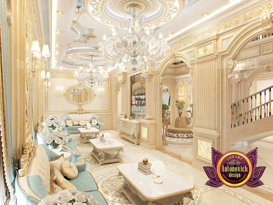 Incredible Beautiful Classical Interior by Luxury Antonovich Design