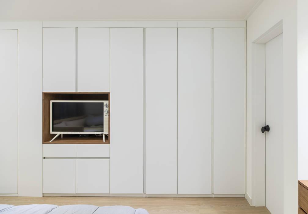 새터마을 모아미래도 25평: 모아디랩의  침실