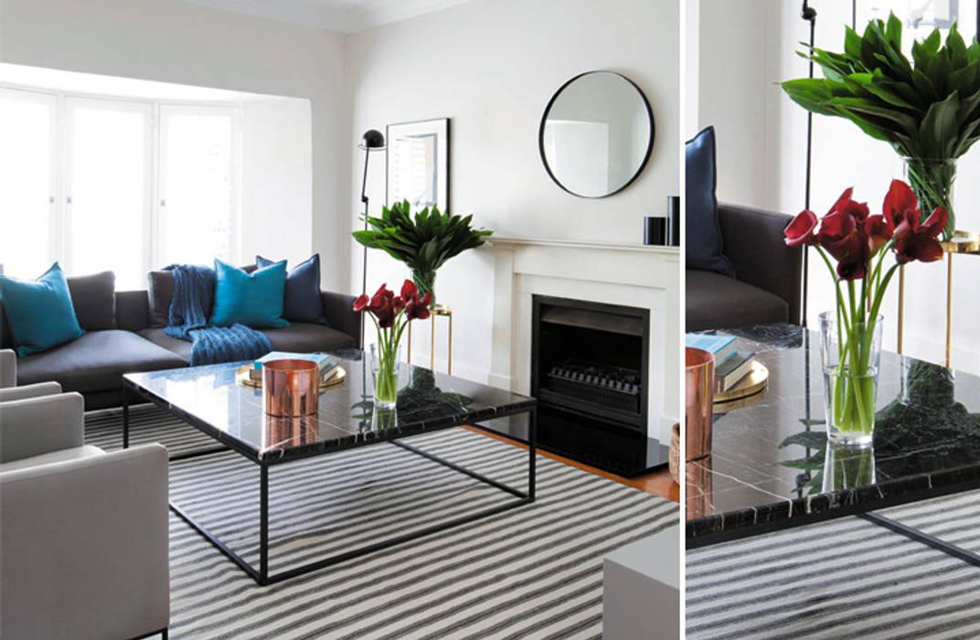 Lounge:  Living room by Metaphor Design, Modern Stone