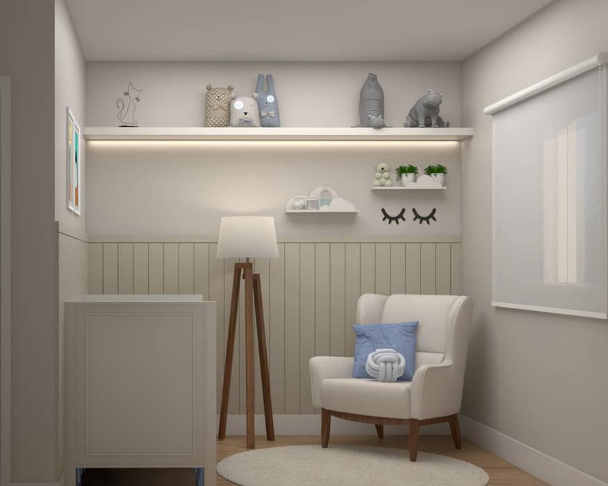 Quarto do Bebê por Studio MP Interiores Clássico MDF