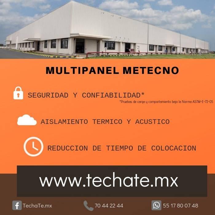 Multipanel METECNO TechaTe Tejados planos