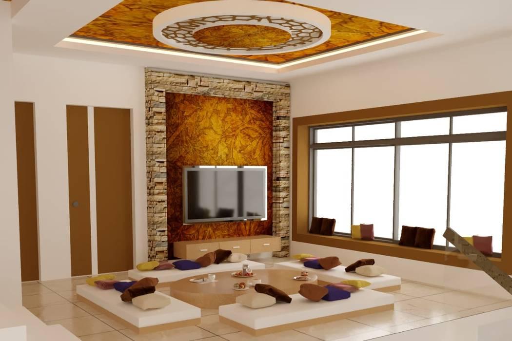 Living Room Design Ideas in Pune City by Yogita Singh