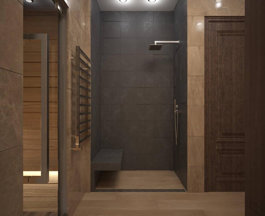 Saunas de estilo  de lesadesign, Minimalista Mármol