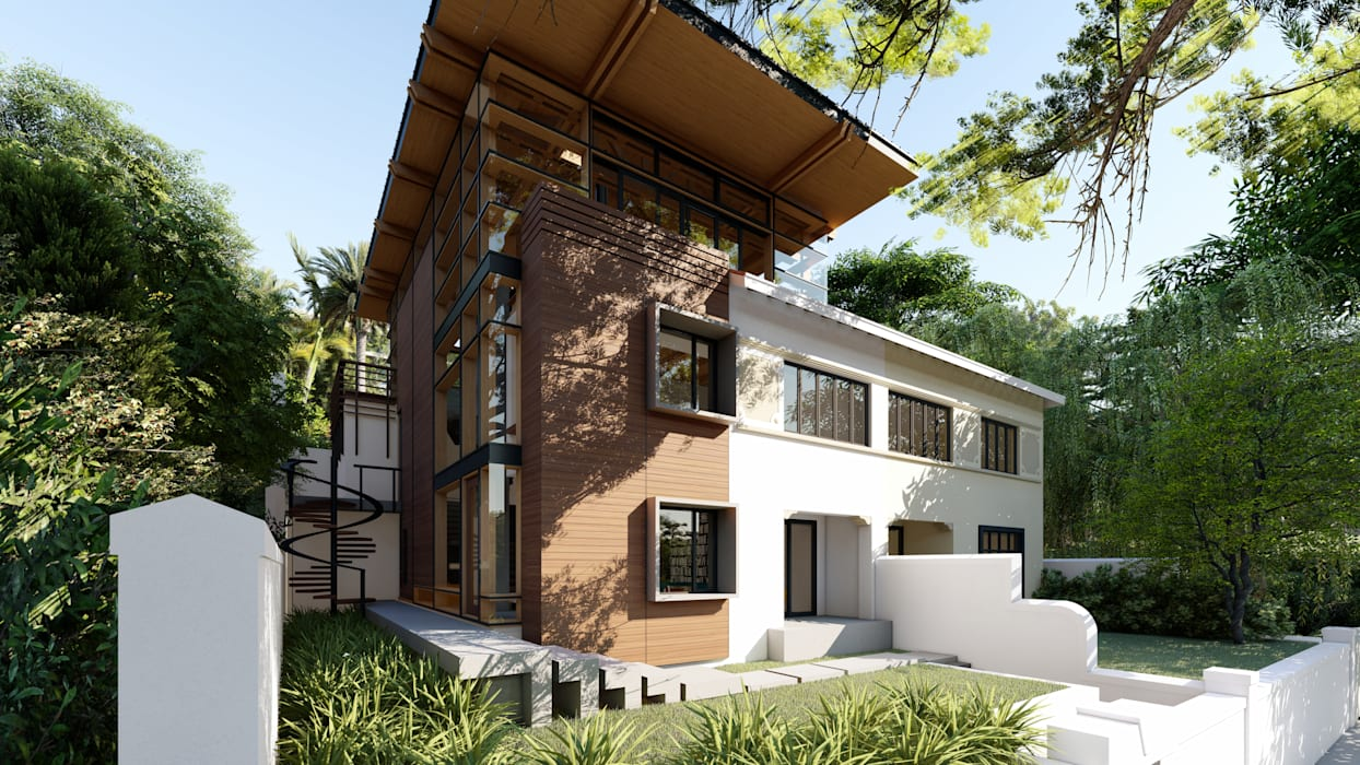 Casas modernas de Inline Spaces Pty Ltd Moderno