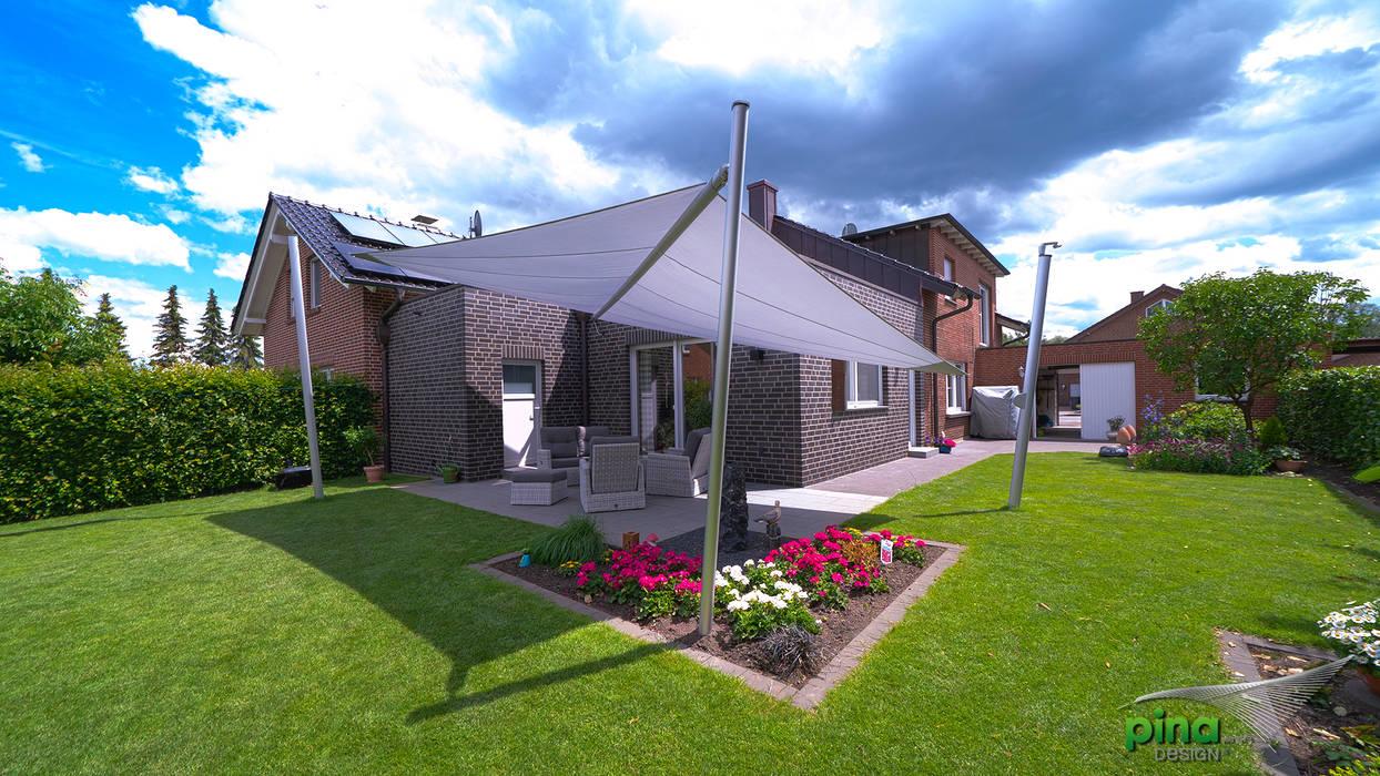 Sonnenschutz zum Sonneranfang! Pina GmbH - Sonnensegel Design Moderner Garten Grau