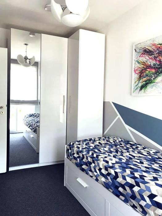 Schrankseite:  Schlafzimmer von KHG Raumdesign - Innenarchitektin in Berlin