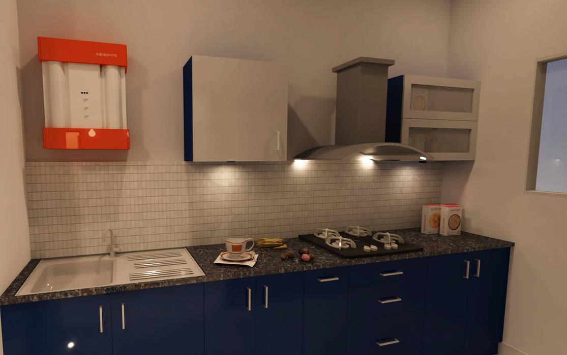 Modular Kitchen:   by SD Interiors & Modulars