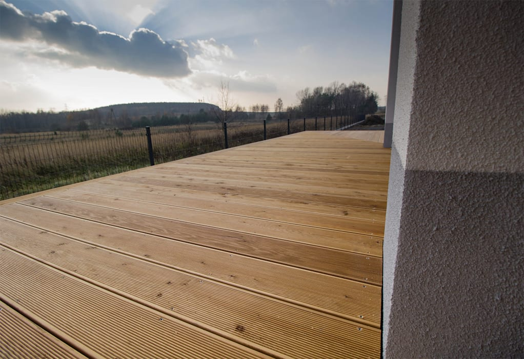 Bednarski - Usługi Ogólnobudowlane Modern terrace Wood