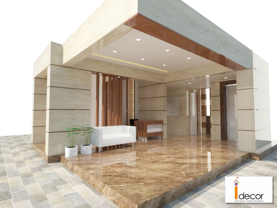 Lobby Work at Malad by ISPACE Minimalist
