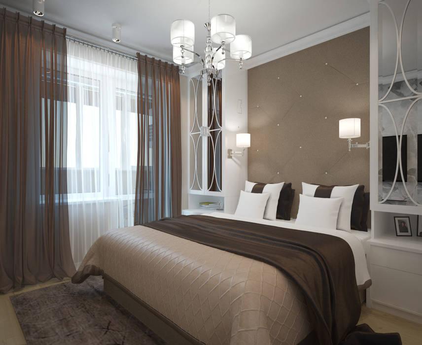 спальня: Спальни в . Автор – lesadesign, Модерн