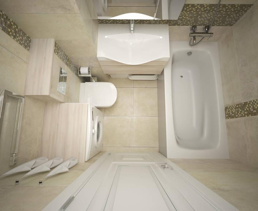 浴室 by lesadesign, 現代風