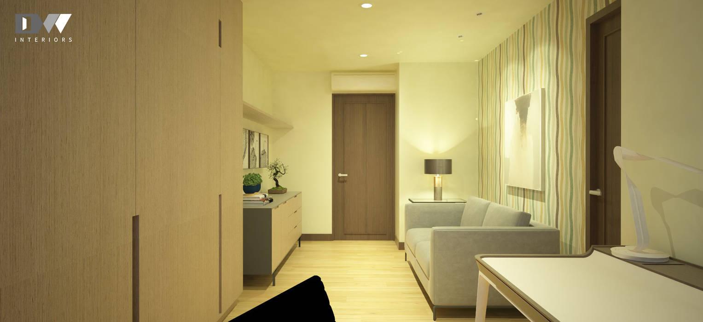 Study area by DW Interiors Minimalist