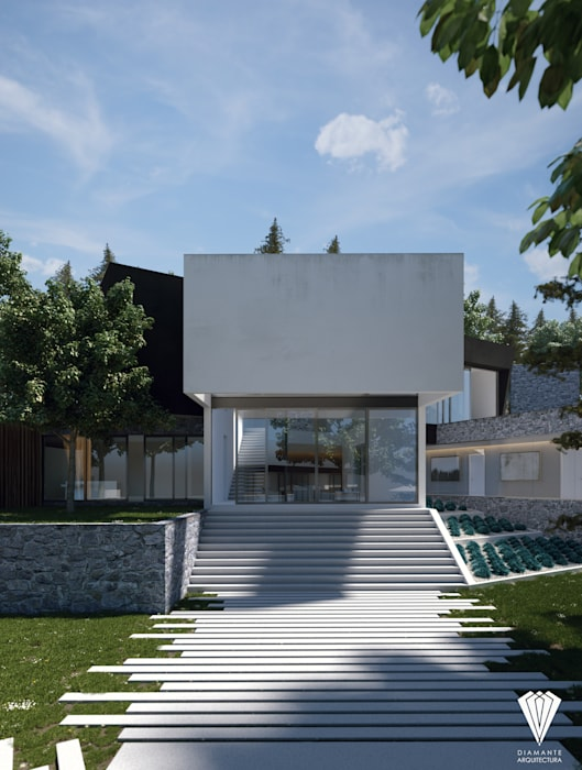 Country house by Diamante Arquitectura,
