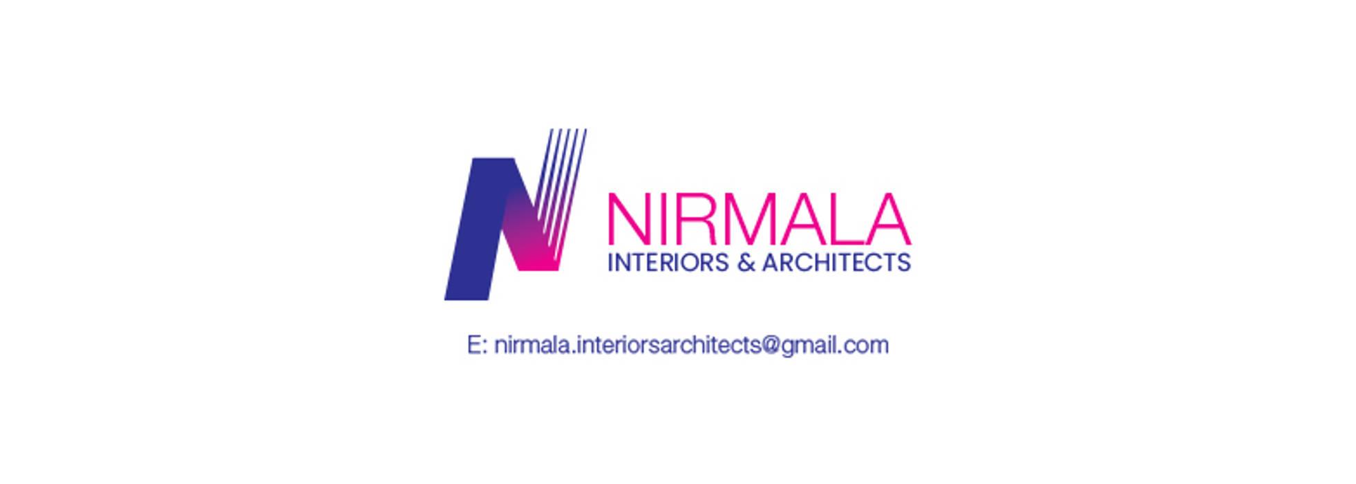 Interiors for 2 BHK at Vijaynagar Colony Modern Media Room by Nirmala Architects & Interiors Modern