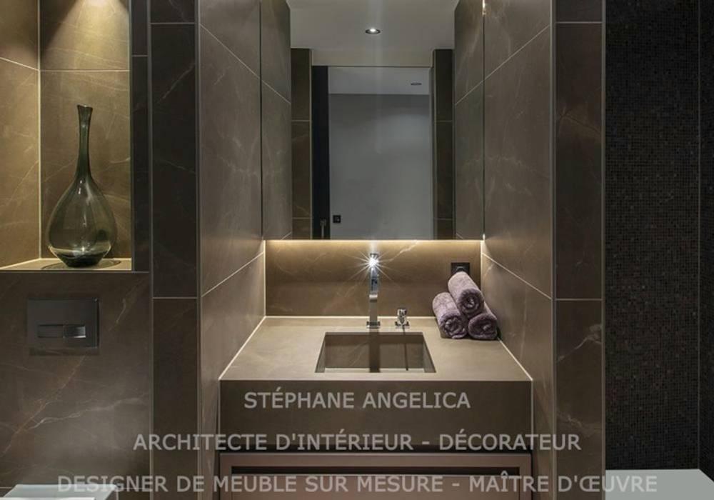 Rénovation d\'une petite salle de bains et wc: salle de bains ...