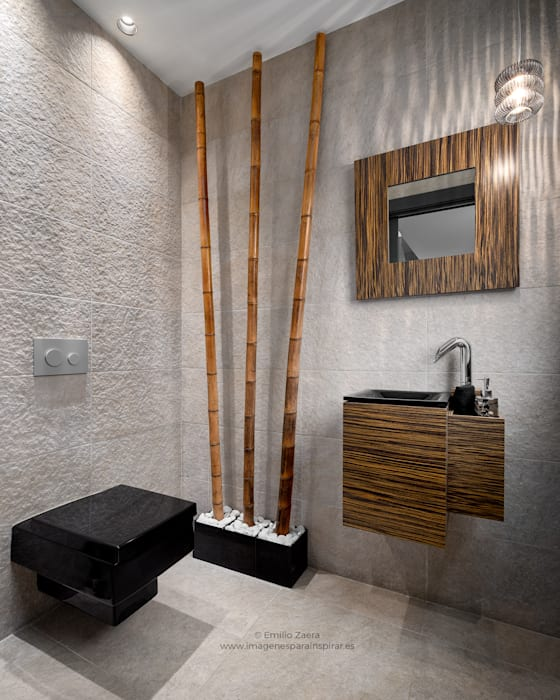 Bathroom by arQmonia estudio, Arquitectos de interior, Asturias, Modern