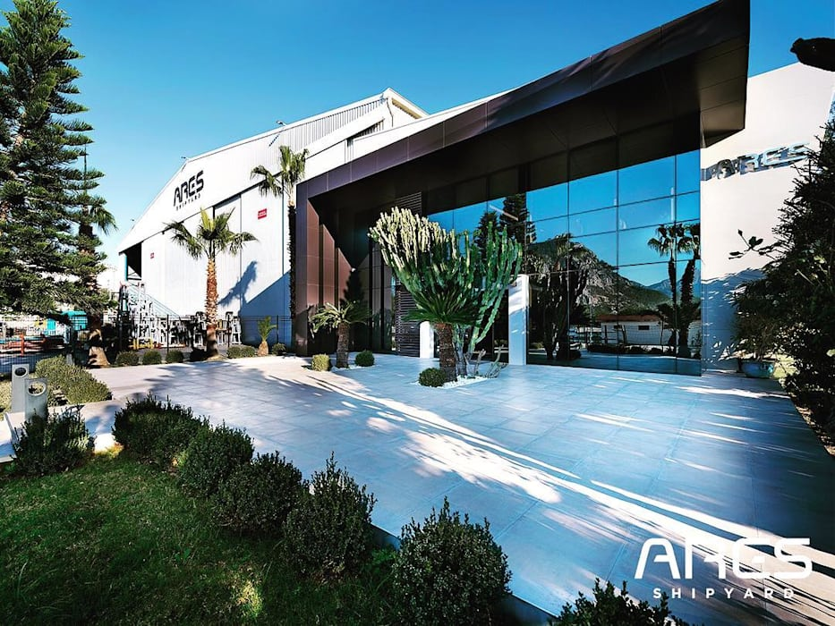 Ares Shipyard (Ares Yatçılık) Ofis VERO CONCEPT MİMARLIK Modern