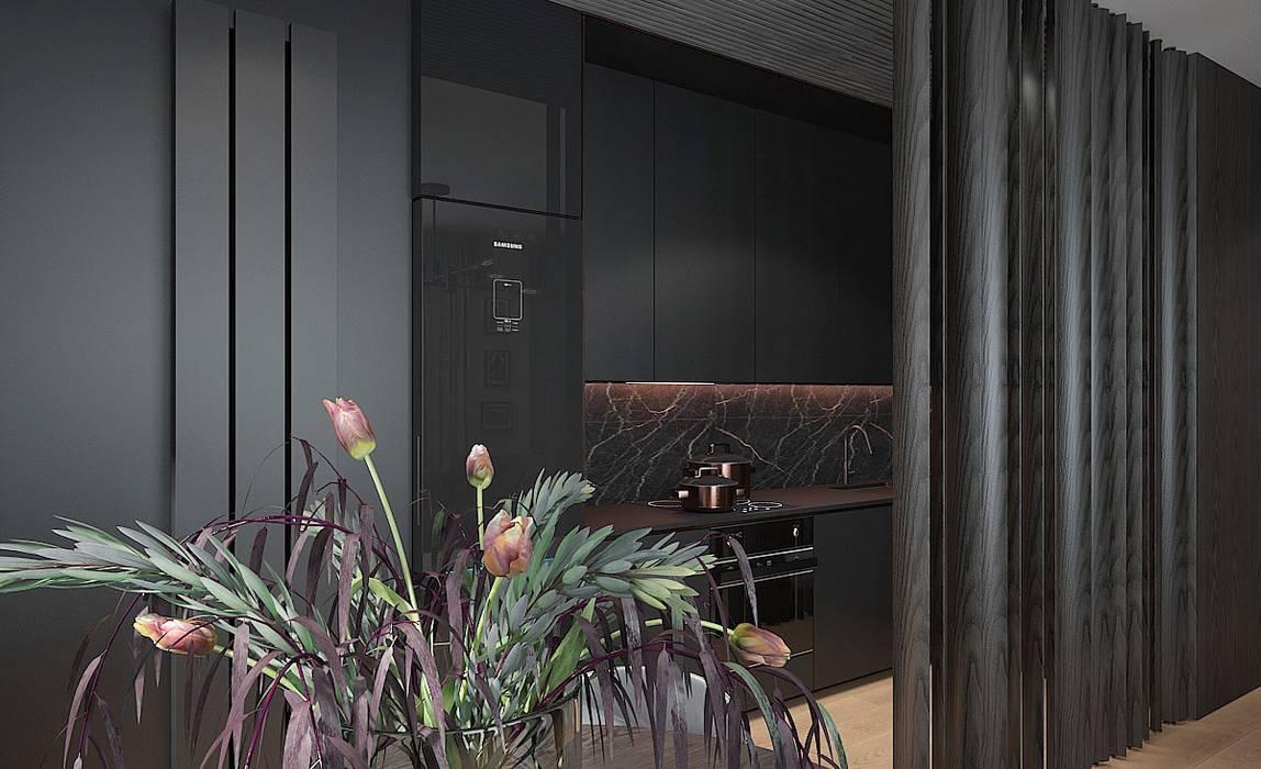 ANEKS KUCHENNY: styl , w kategorii Aneks kuchenny zaprojektowany przez Studio architektury Loci
