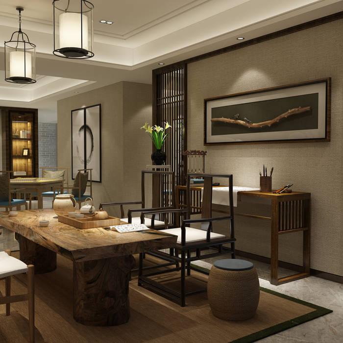 Residence in Gurugram Modern dining room by Space Interface Modern