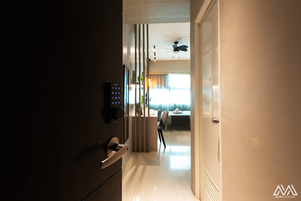 Warm & Cozy - The Symphony Tower 2 (QC):  Doors by MVRX Designs,