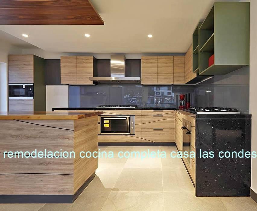 Diseño de Cocina de N&V diseño y construcción Moderno