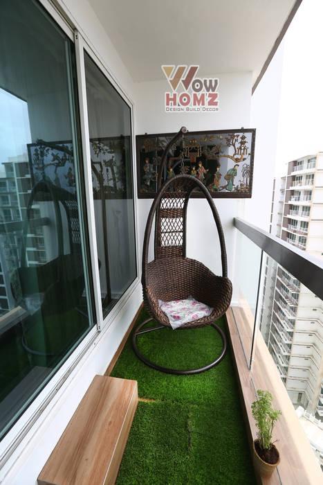 Balcony :  Balcony by Wow Homz,Modern Metal