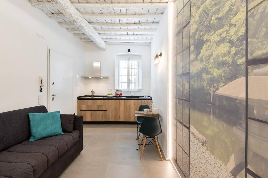 Il Giardino Segreto: Cucina in stile  di B+P architetti