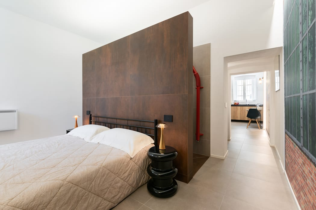 Bedroom by B+P architetti,