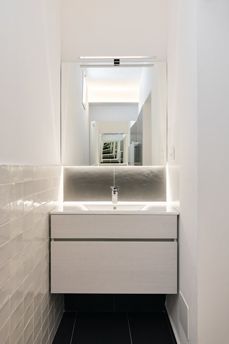 Kamar Mandi oleh B+P architetti, Modern