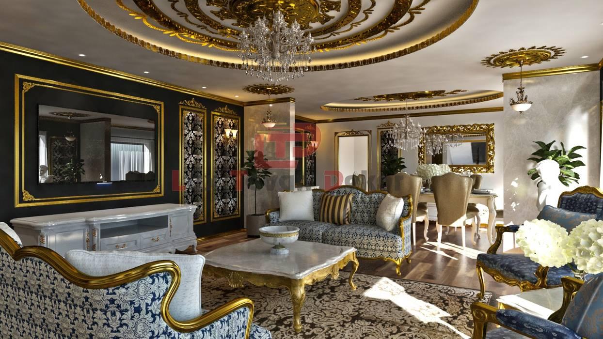 Luxtavandekor LTD ''Hayal etmenin yeri, zamanı ve sınırı yoktur'' İç ve Diş Mimari Tasarim ve Projeler (Interior design and project company) +905325964216 +902324336676www.luxtavandekor.com LÜX TAVAN DEKOR Klasik Oturma Odası Altın Sarısı