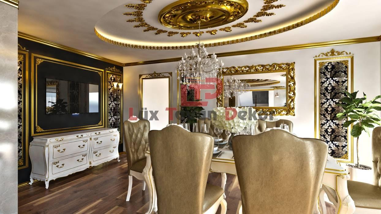 Luxtavandekor LTD ''Hayal etmenin yeri, zamanı ve sınırı yoktur'' İç ve Diş Mimari Tasarim ve Projeler (Interior design and project company) +905325964216 +902324336676www.luxtavandekor.com LÜX TAVAN DEKOR Klasik Mutfak Altın Sarısı