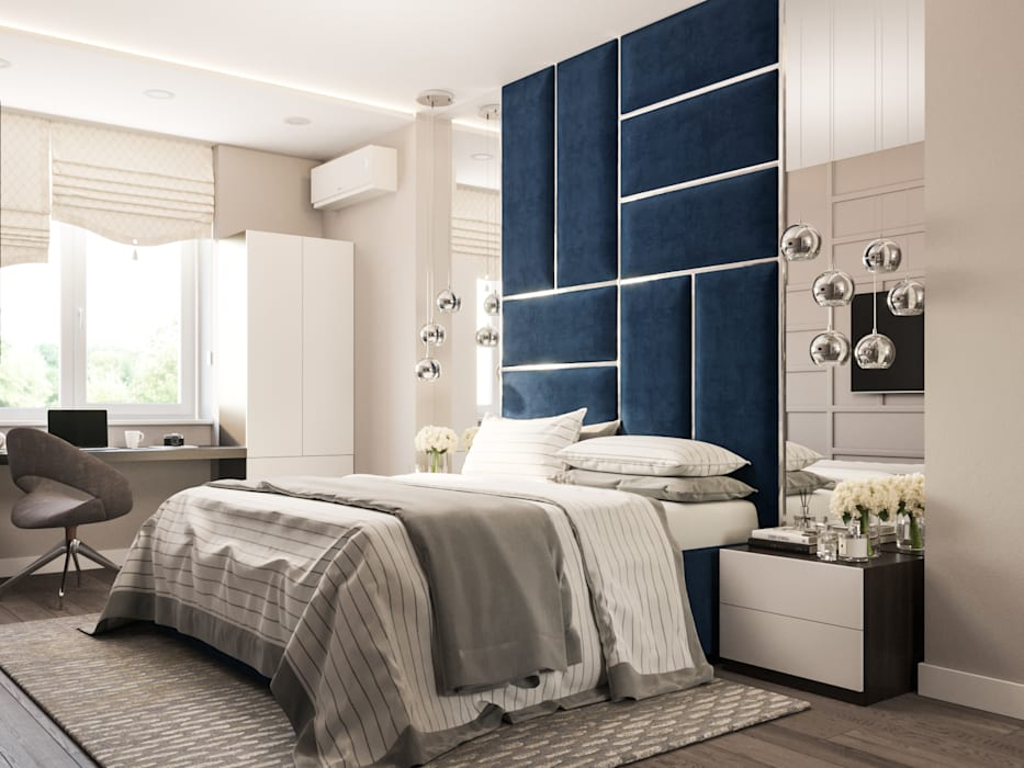 Bedroom by Анастасия Свистович, Minimalist