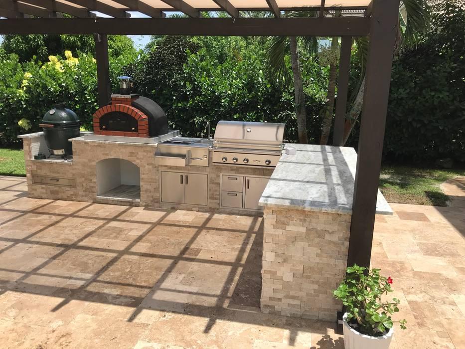 Franco Model - Ideas for outdoor kitchen :  Garden by Dome Ovens®, Mediterranean