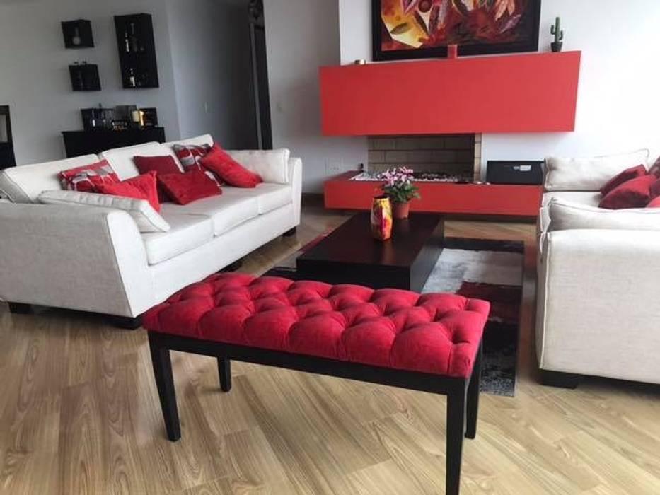 Moderne Wohnzimmer von KAYROS ARQUITECTURA DISEÑO INTERIOR Modern