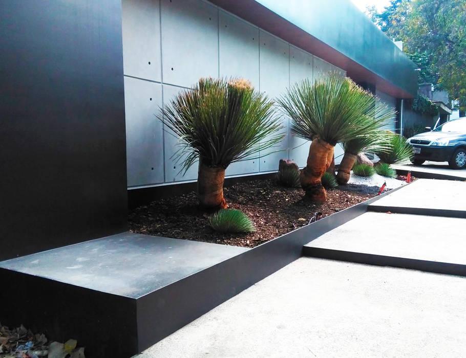 Corredores, halls e escadas modernos por Proyecto 3Catorce Moderno