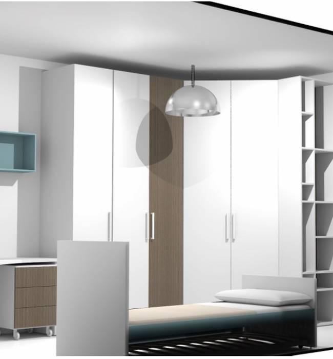 Cameretta per ragazzi camera da letto moderna di l&m design ...