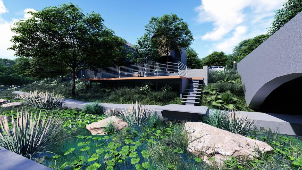 Nhà cho nhiều gia đình theo LI A'ALAF ARCHITECT, Hiện đại