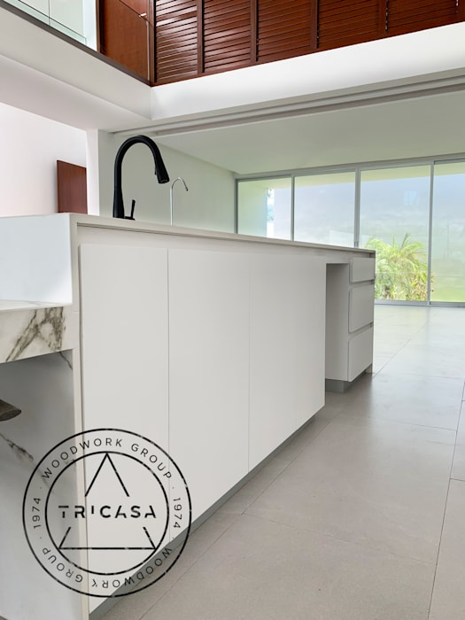 by TRICASA WOODWORK GROUP Minimalist MDF