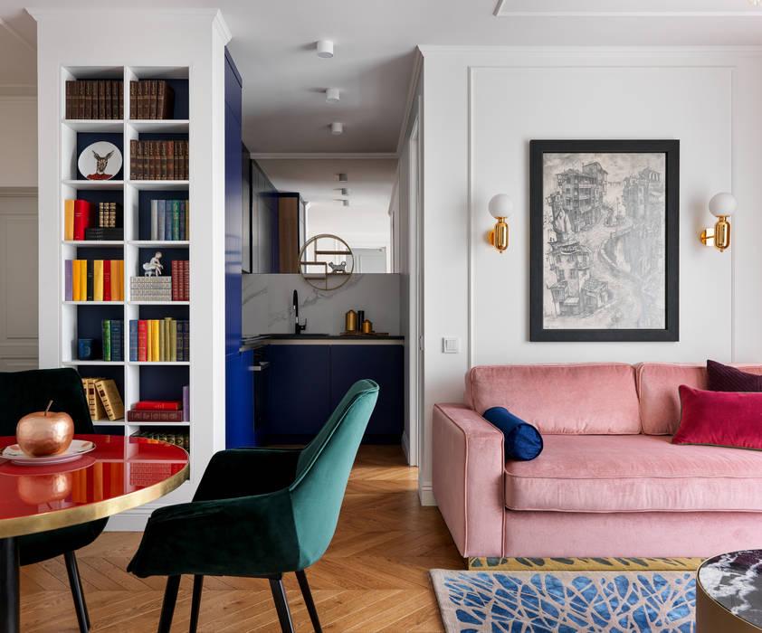 Living room by Студия Интерьеров Ксении Мезенцевой, Industrial