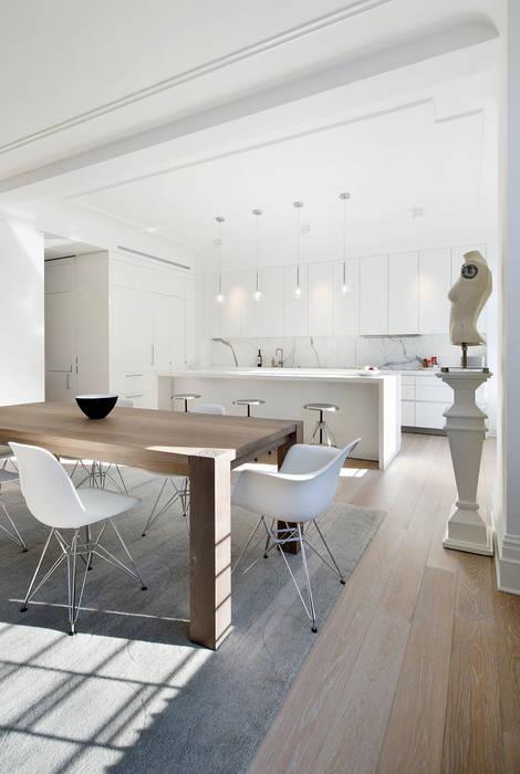 Salas de estilo minimalista de D&D Minimalista