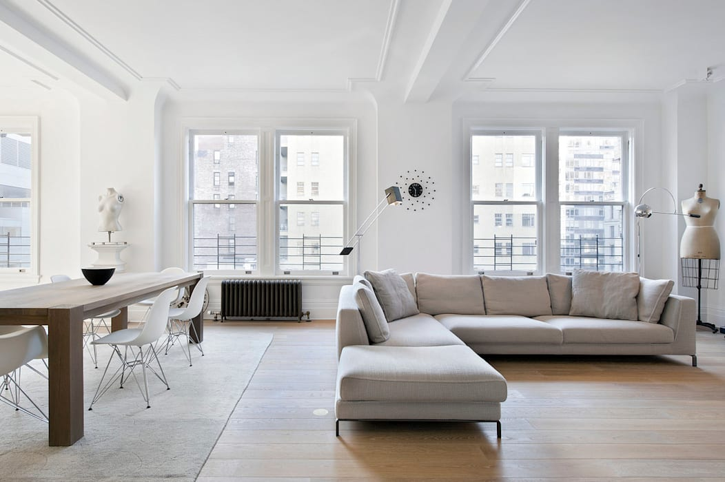 Living room by D&D, Minimalist