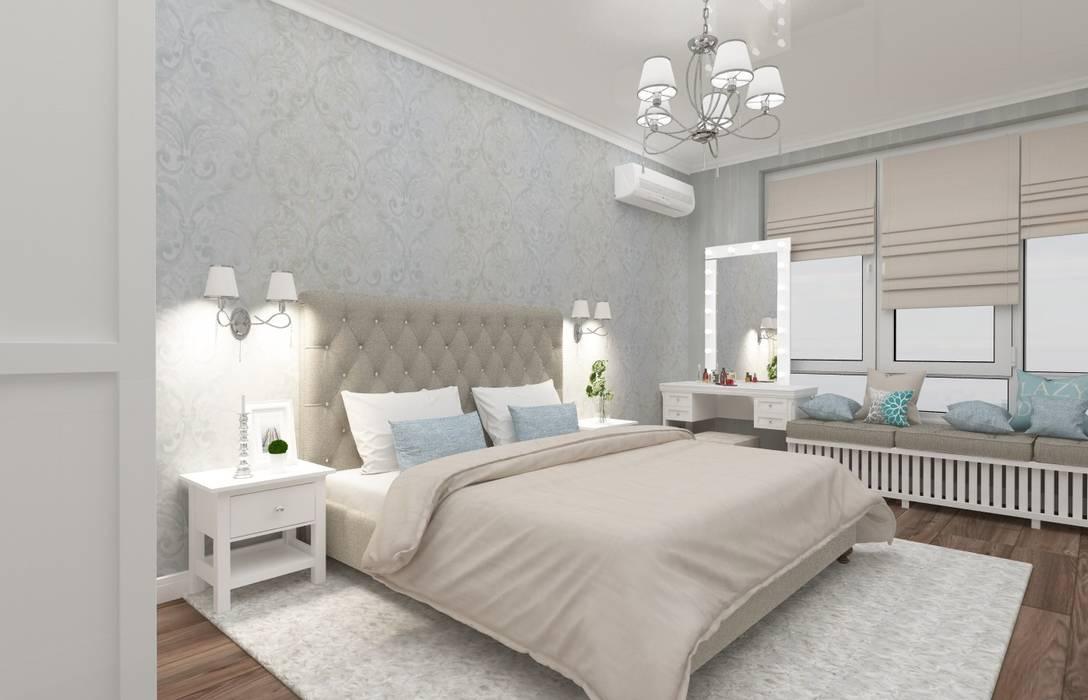 Chambre de style  par Vision Design, Classique