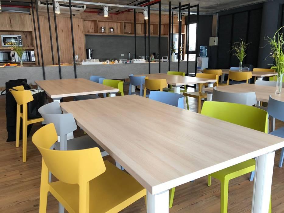 Espacio comunitario | Cocina Comedor de Tumburus Lucas - Diseño y Arquitectura Interior Industrial Hierro/Acero