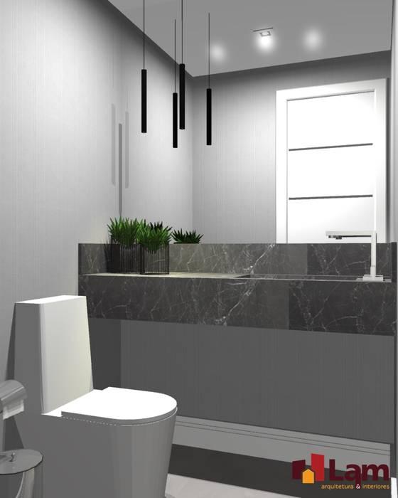 Kamar Mandi Modern Oleh LAM Arquitetura   Interiores Modern