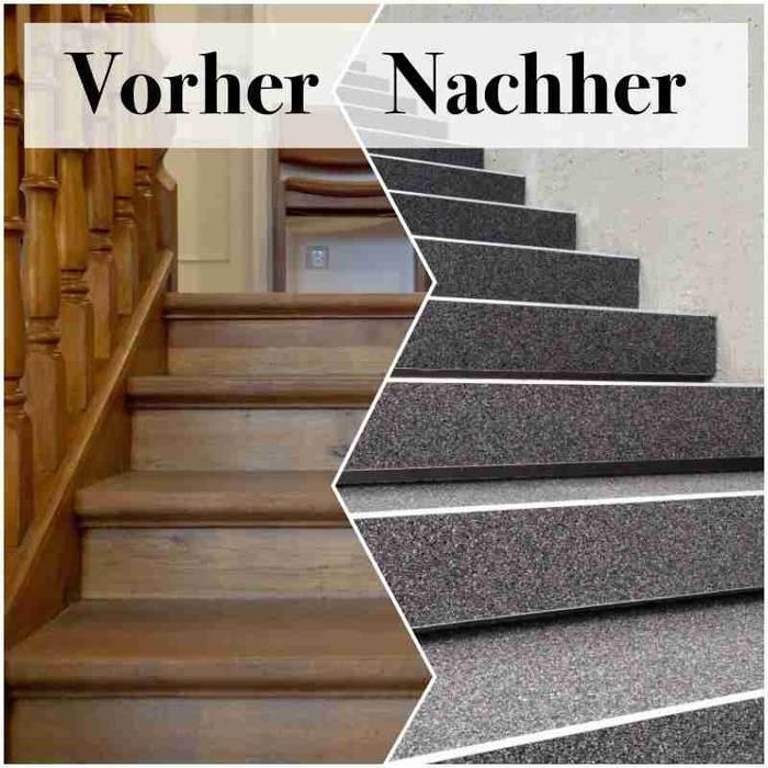 Fabulous Holztreppen mit steinteppich renovieren: treppe von steinteppich WD06