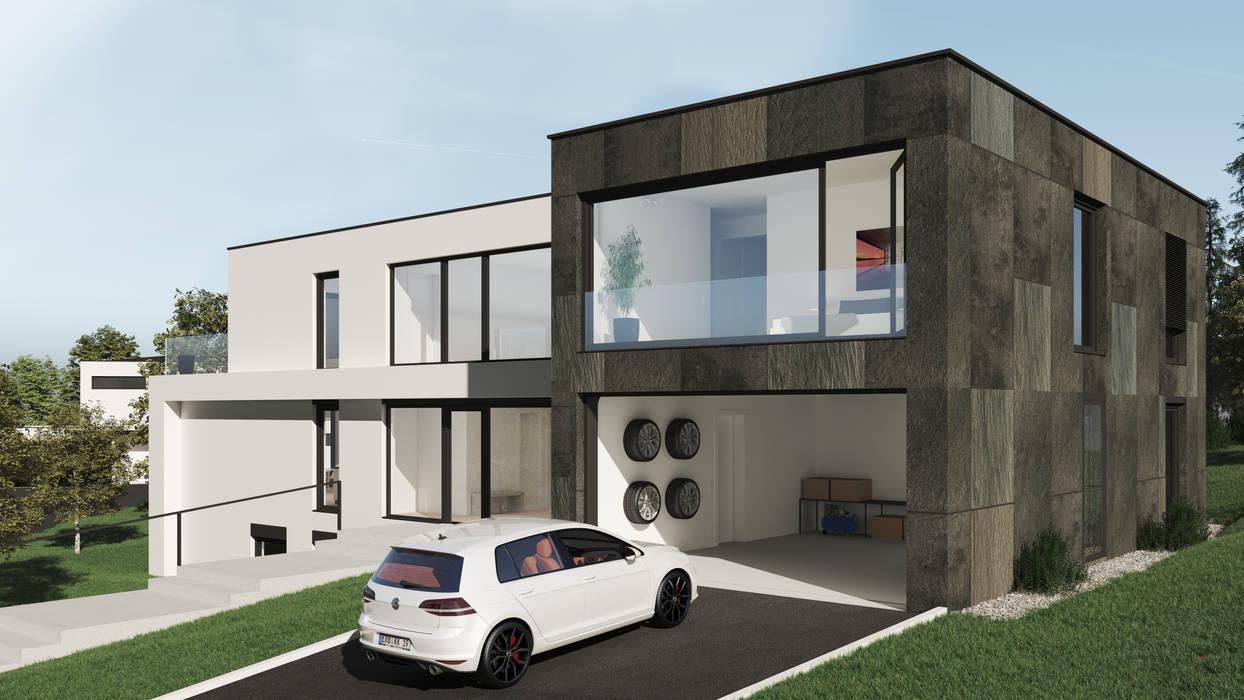HAUS 242 Moderne Garagen & Schuppen von Karl Kaffenberger Architektur   Einrichtung Modern