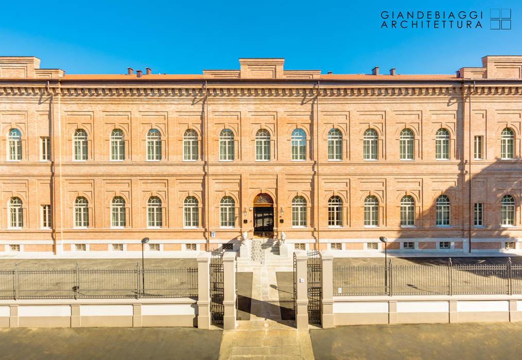 Restoration of the former hospital pavilion G. Vighi in luxury hotel GIANDEBIAGGI ARCHITETTURA